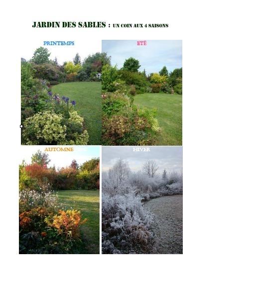 Les 4 saisons du jardin des sables montvendre site for Jardin 4 saisons eckwersheim